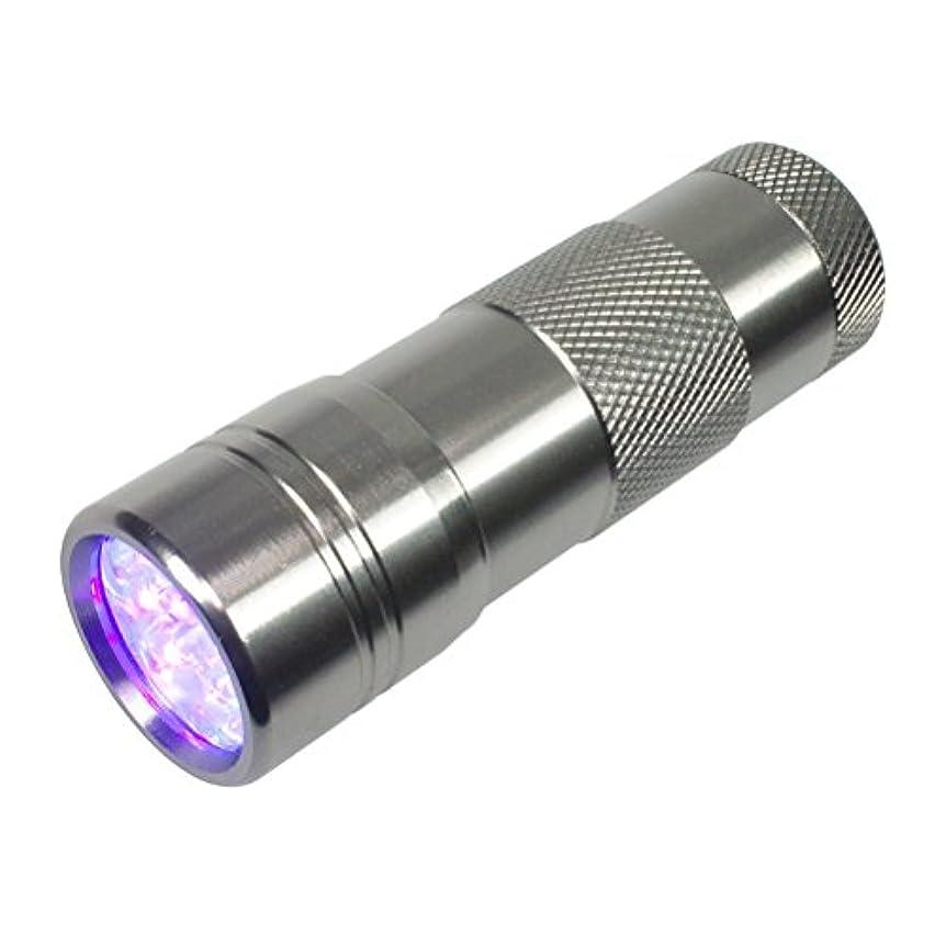 特殊物理彼はジェルネイル用UVライト ペン型LEDライト ミニサイズ 携帯用ハンディライト 超高速硬化 ジェルネイル用