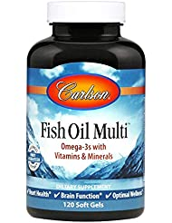 Carlson Labs, Fish Oil Multi, 120 Soft Gels