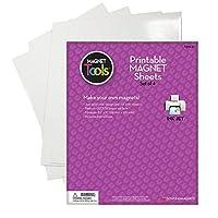 Printable Magnetic Sheets 8.5X11 4/Pkg-White [並行輸入品]