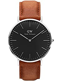 [ダニエル ウェリントン] Daniel Wellington 腕時計 DW00100132 Classic Man 40 mm ブラック Black Durham horloge [並行輸入品]