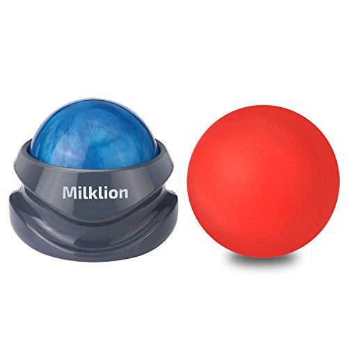 マッサージボール セット ローラー 筋膜リリース マッサージャー トリガーポイント刺激 足 ほぐし 健康器具 血行促進 頭痛 浮腫み解消 疲労回復【Milklion】