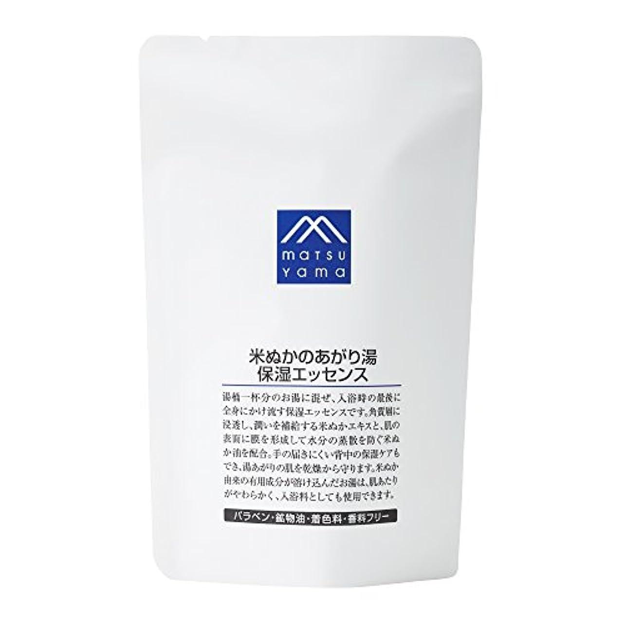 何故なのできた害虫M-mark 米ぬかのあがり湯保湿エッセンス 詰替用