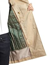 Cotton Gabardine Trench Coat 3125-136-0230: Beige