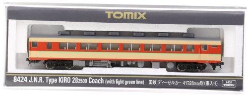 TOMIX Nゲージ 8424 国鉄ディーゼルカー キロ28-2500形 (帯入り)