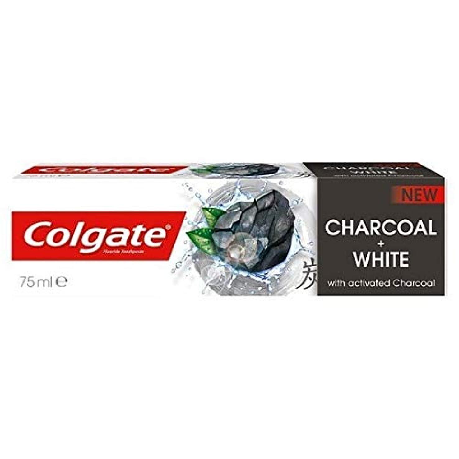 止まる予見する表向き[Colgate ] コルゲート歯磨きナチュラルチャコール75ミリリットル - Colgate Toothpaste Naturals Charcoal 75ml [並行輸入品]