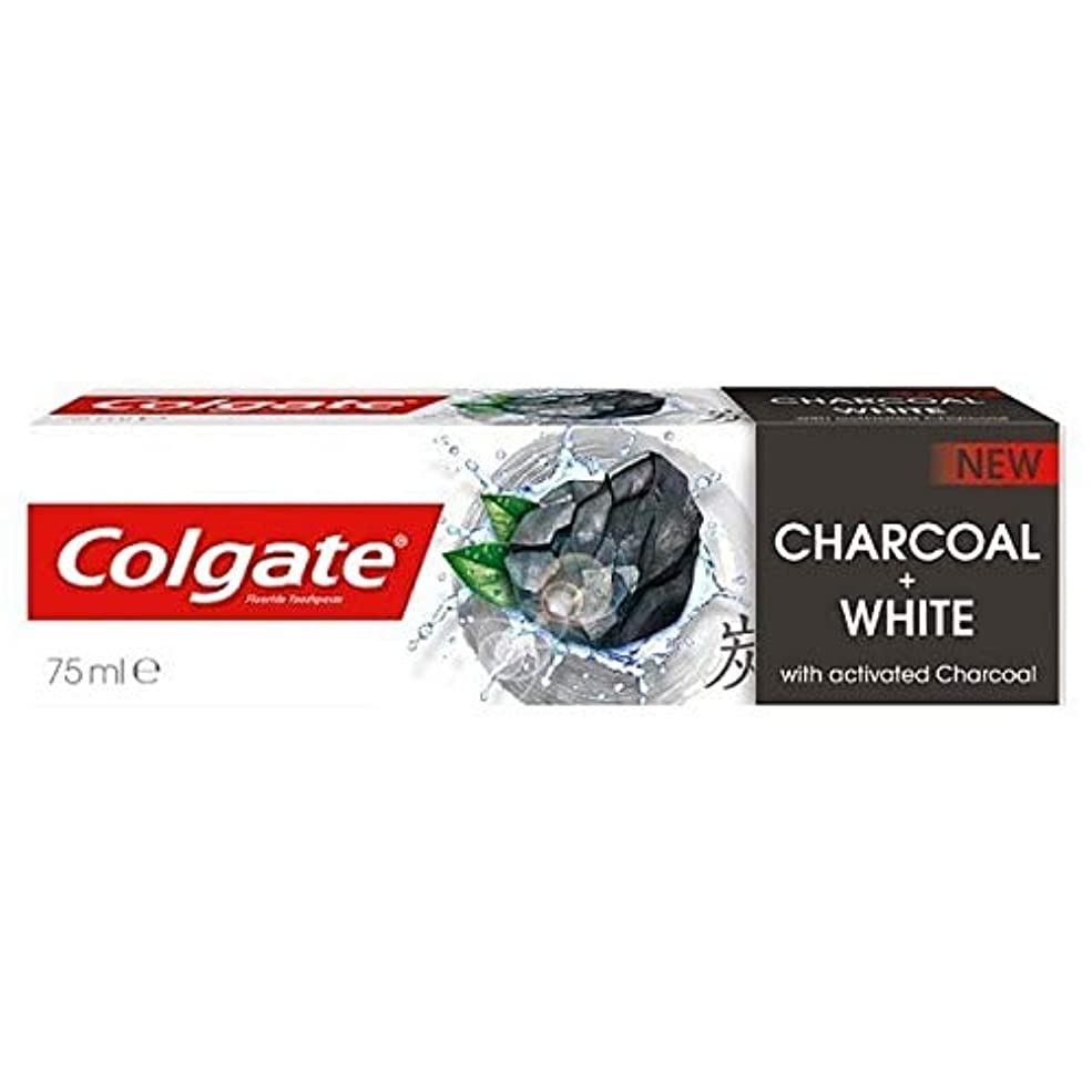 摂動有害な確立します[Colgate ] コルゲート歯磨きナチュラルチャコール75ミリリットル - Colgate Toothpaste Naturals Charcoal 75ml [並行輸入品]