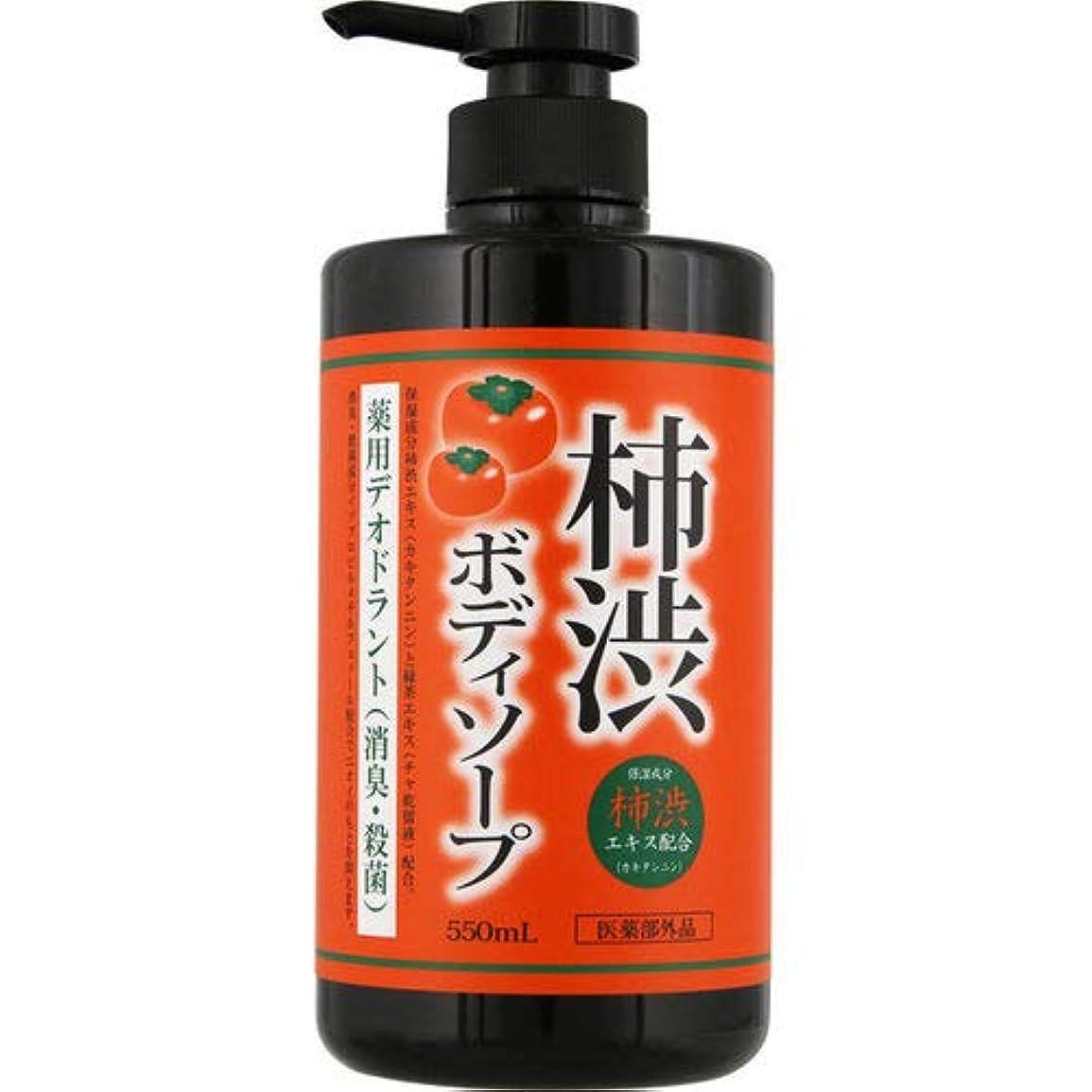 クモトーク充電薬用 柿渋ボディソープ 550ml[医薬部外品]