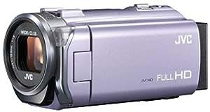 JVCKENWOOD JVC ビデオカメラ EVERIO 内蔵メモリー32GB バイオレット GZ-E765-V