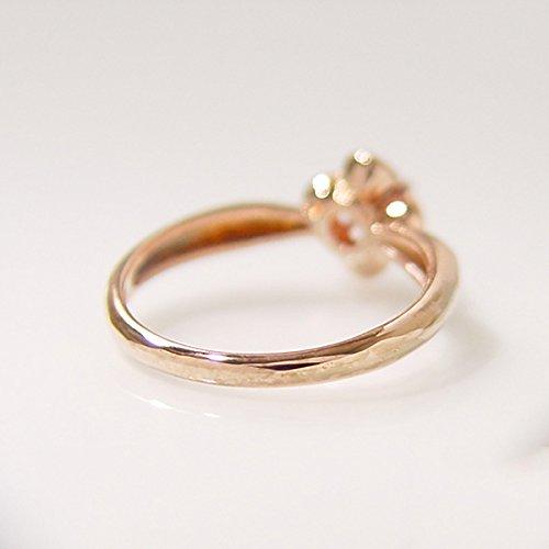 umu-ring ルベライト フラワー リング ピンクSV (サイズ20号)