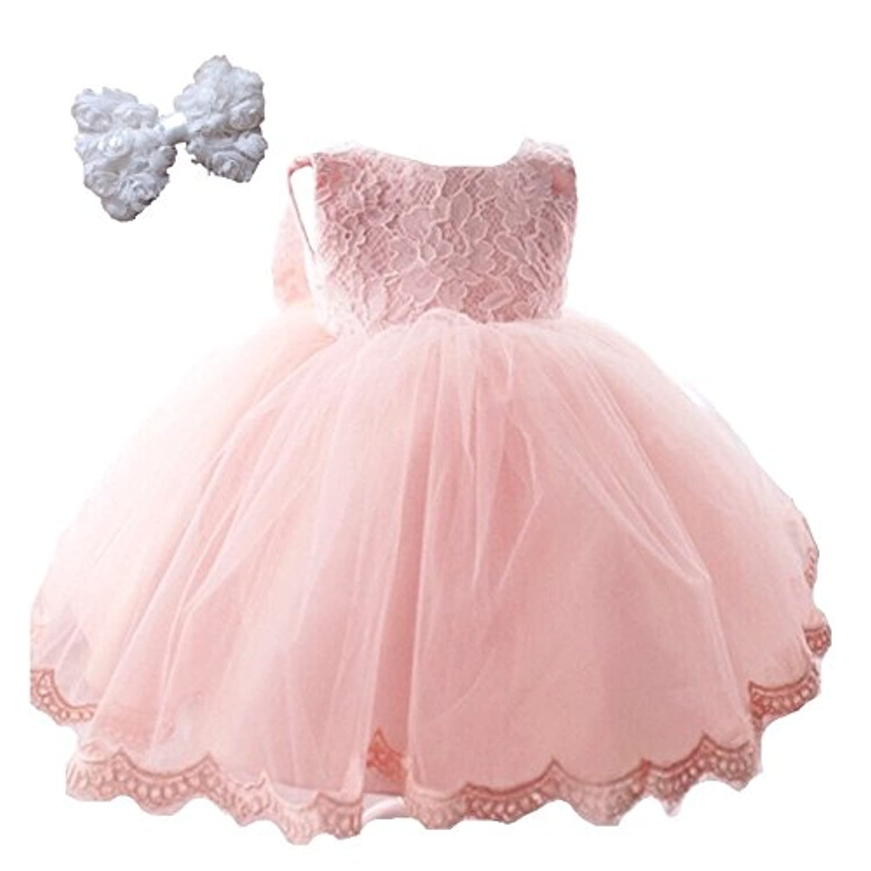 puni't day ベビー ドレス バースデー 結婚式 誕生日 プリンセス 寝相アート ワンピース パニエ ヘアアクセセット