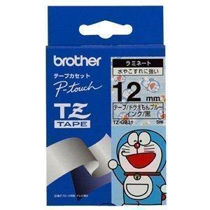 BROTHER TZ-GB31 ドラえもんブルー/黒文字 12mm