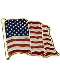1 PCアメリカ国旗ラペルピン0.8