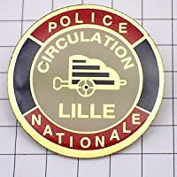 限定 レア ピンバッジ ポリス警察官フランス交通整理 ピンズ フランス