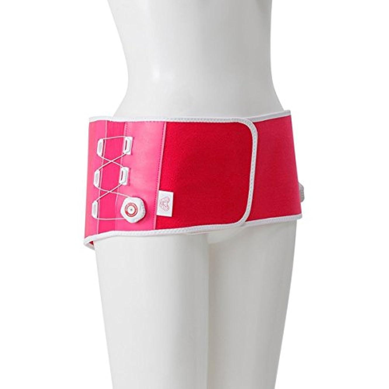 フローカプセル香り芦屋美整体 骨盤リセットベルト ピンク M-Lサイズ