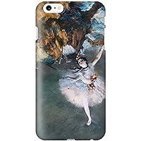 スマホケース スマートフォンケース iPhone6 6s 【側面印刷ハードケース】【アイフォン6 6s】【ドガ 踊りの花形】【名画mg4】つや消し