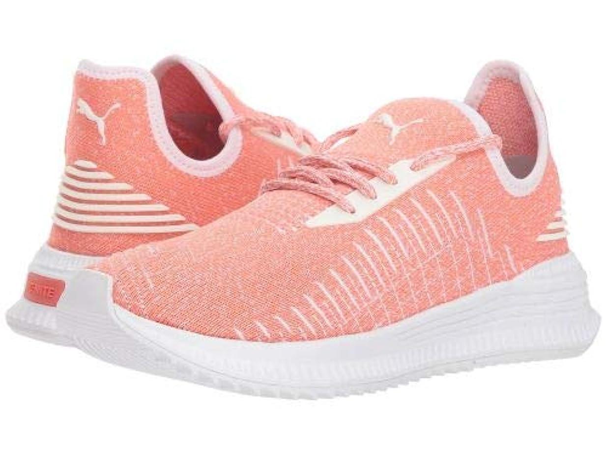 合体なぜ正気PUMA(プーマ) レディース 女性用 シューズ 靴 スニーカー 運動靴 Avid evoKNIT - Shell Pink/Puma White [並行輸入品]