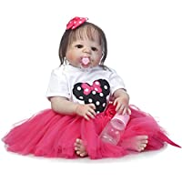 SanyDoll Rebornベビー人形ソフトSilicone 22インチ55 cm磁気Lovely Lifelike Cute Lovely Baby b0763ldkmz