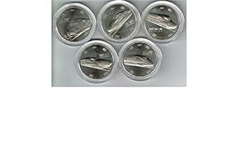新幹線鉄道開業50周年記念貨幣 100円硬貨 5種セット 記念硬貨