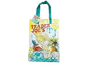 Trader Joe's(トレーダー・ジョーズ) エコバッグ マップデザイン【並行輸入品】