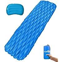 Roeburyピクニックブランケット& Beach Blanket – Largeオーバーサイズ防水Sandproof Mat forアウトドア旅行やキャンプFolds Into aコンパクトトートバッグ