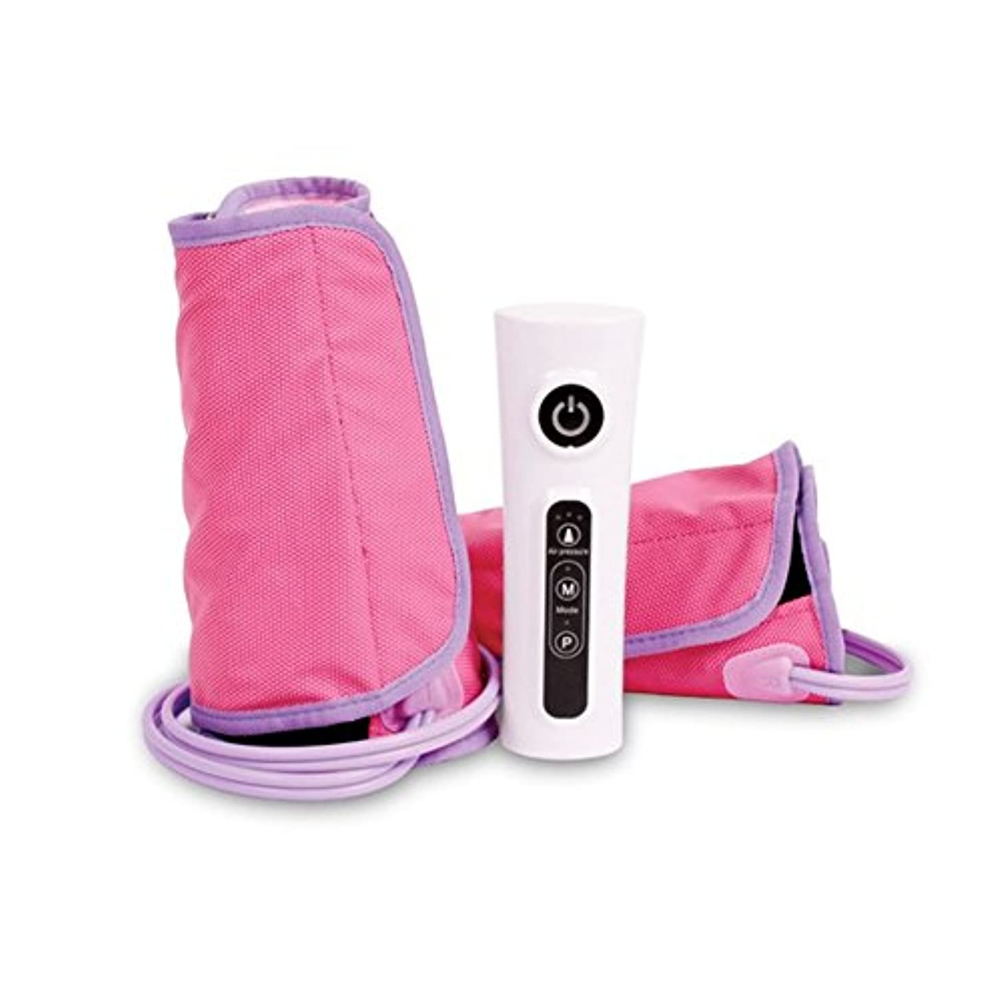 単調な寓話音声Zespa ZP418 Rechargeable Line slimming Air Compression calf Leg Arm Foot Massager 360 rotary air pressure massage...