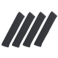 4-Pack Headband Hair Tamer (Pure Bamboo & Cotton, One Size Fits All) - Ultra Soft and Fashionable