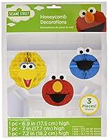 Sesame Street Honeycomb Decorations Elmo's Party Hanging Decor