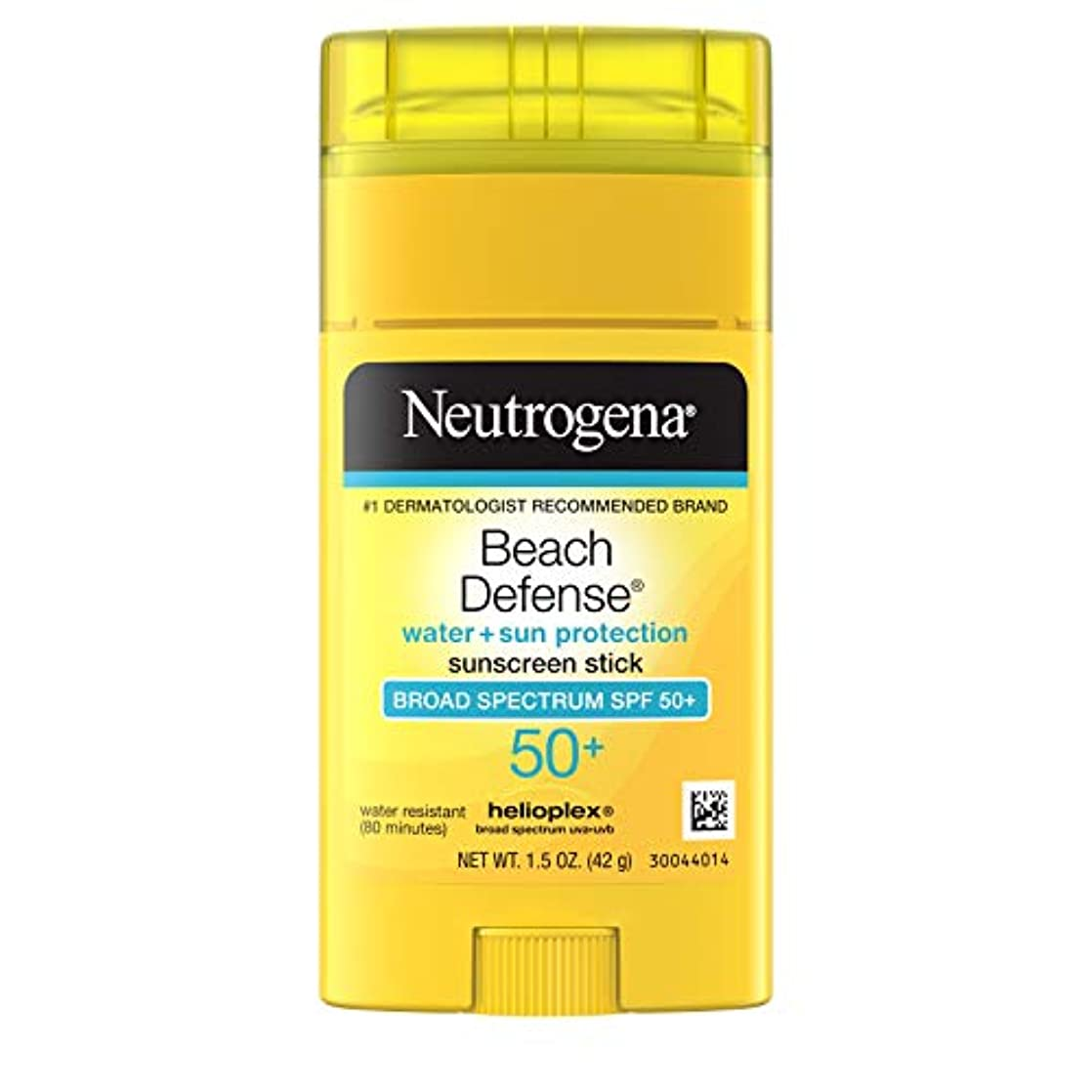 きゅうり推進、動かすラグNeutrogena Sunscreen Beach Defense Sunblock Stick SPF 50, 1.5 Ounce