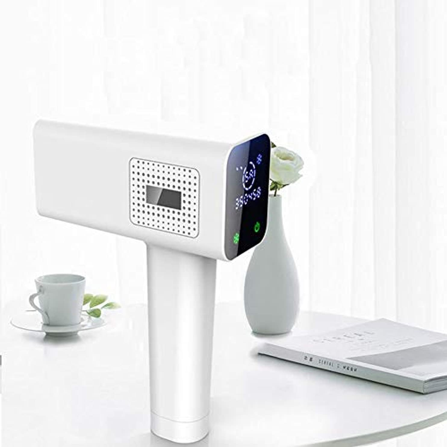 装置十分な基礎理論ポータブルフルボディアイスポイント脱毛器、シングルフラッシュ、連続フラッシュ、デュアルモード、交換可能なランプホルダー、10スピード調整、LCDタッチスクリーン 効果が良い