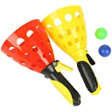 Blesiya Click and Catch Balls Sport Game Set for Children Kids Beach Garden Party Toy
