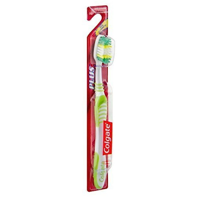 いとこ剥ぎ取る危険を冒しますColgate PULSバイレベルメッドHdの歯ブラシ、6パック