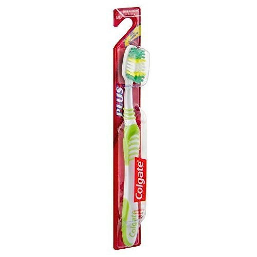隙間沿って揃えるColgate PULSバイレベルメッドHdの歯ブラシ、6パック