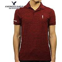 [アメリカンイーグル] AMERICAN EAGLE 正規品 メンズ 半袖ポロシャツ AE ACTIVE POLO 1165-8690-613 並行輸入品 (コード:4130110429)