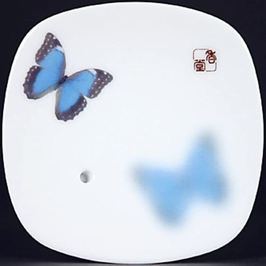 貨物勇気甲虫【まとめ買い】【日本香堂】夢の夢 夏夜の香(なつよ) 香皿 ×2セット
