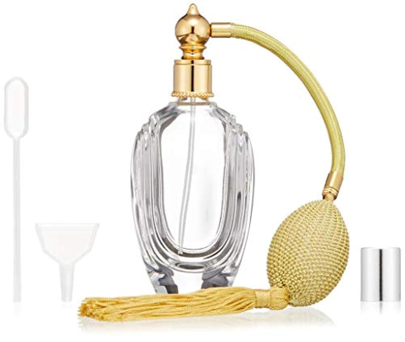 絞る厳密に素朴なヒロセアトマイザー フランス製香水瓶50ML Upper East Side 399853CG (50MLタクジョウ) CLGD