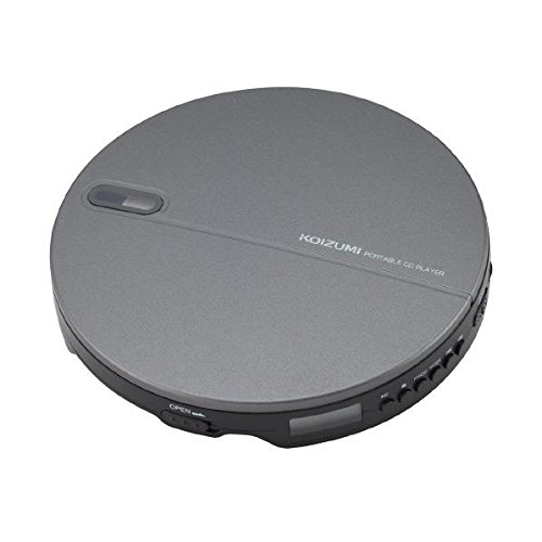 [해외]KOIZUMI 휴대용 CD 플레이어 블랙 SAD3903K/KOIZUMI portable CD player black SAD3903K
