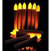 「Mercury」電池式LEDろうそく 火を使わないので安全、火気厳禁の部屋でのご使用に最適 蝋燭 ローソク お彼岸 お盆 安心 安全 (10本)