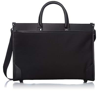 [マンハッタンエクスプレス] MANHATTAN EXP. ビジネスバッグ 自立スタンドタイプ 合皮付属 シングル 40cm 53-80641 01 (ブラック)