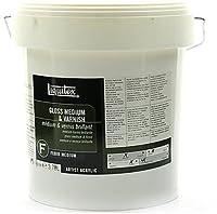 LiquitexアクリルGloss Medium & Varnish (ガロン) 1個SKU # 1838120MA