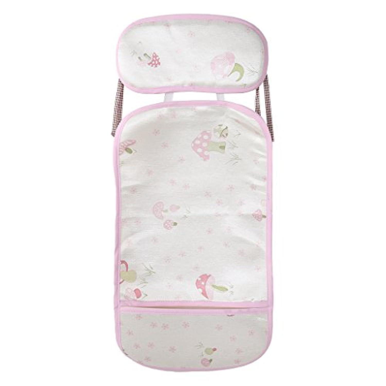 yangxiyan Babyベビーカーマット夏クールアイスシルククッション通気性ベッド椅子を枕 Length: 20cm (7.87in) Width: 6.6cm (2.6in) Height: