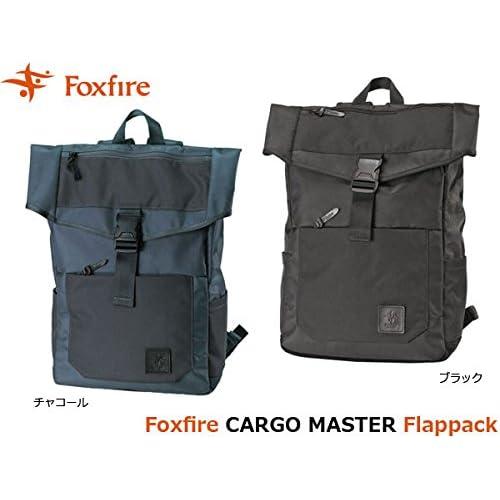 フォックスファイヤー バックパック メンズ カーゴマスターフラップパック CARGO MASTER Flappack FOX5321739 ブラック