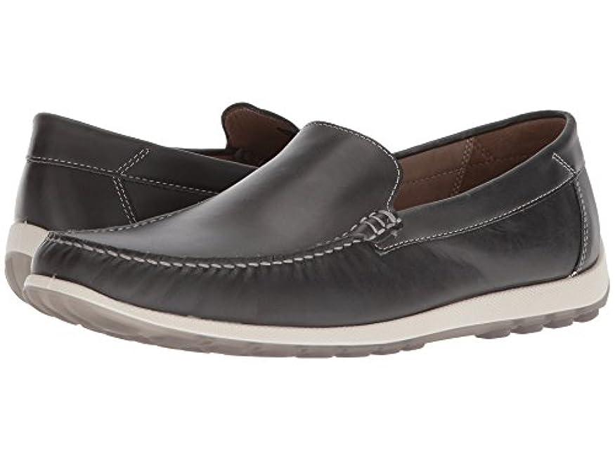 シャックルブロックお風呂[ecco(エコー)] メンズローファー?スリッポン?靴 Dip Moc Moonless EU40 (US Men's 6-6.5) (25-25.5cm) M