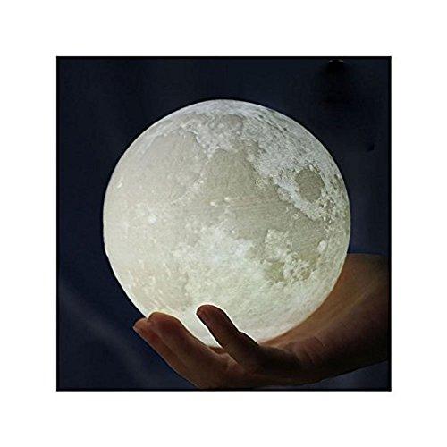 3D Printing Moon LED Lamp Night light ...