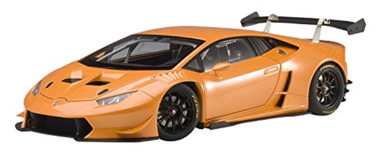 AUTOart 1/18 ランボルギーニ ウラカン LP620-2 スーパートロフェオ 2015 パール?オレンジ 完成品