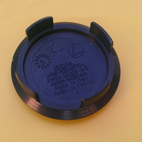 4pcクロームJaguar合金ホイールセンターキャップバッジエンブレム57mm XK xk8XKR XJ xj8XJR xj6XF X Sタイプx300(レッド)