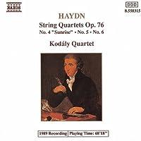 String Quartets Op 76, 4-6