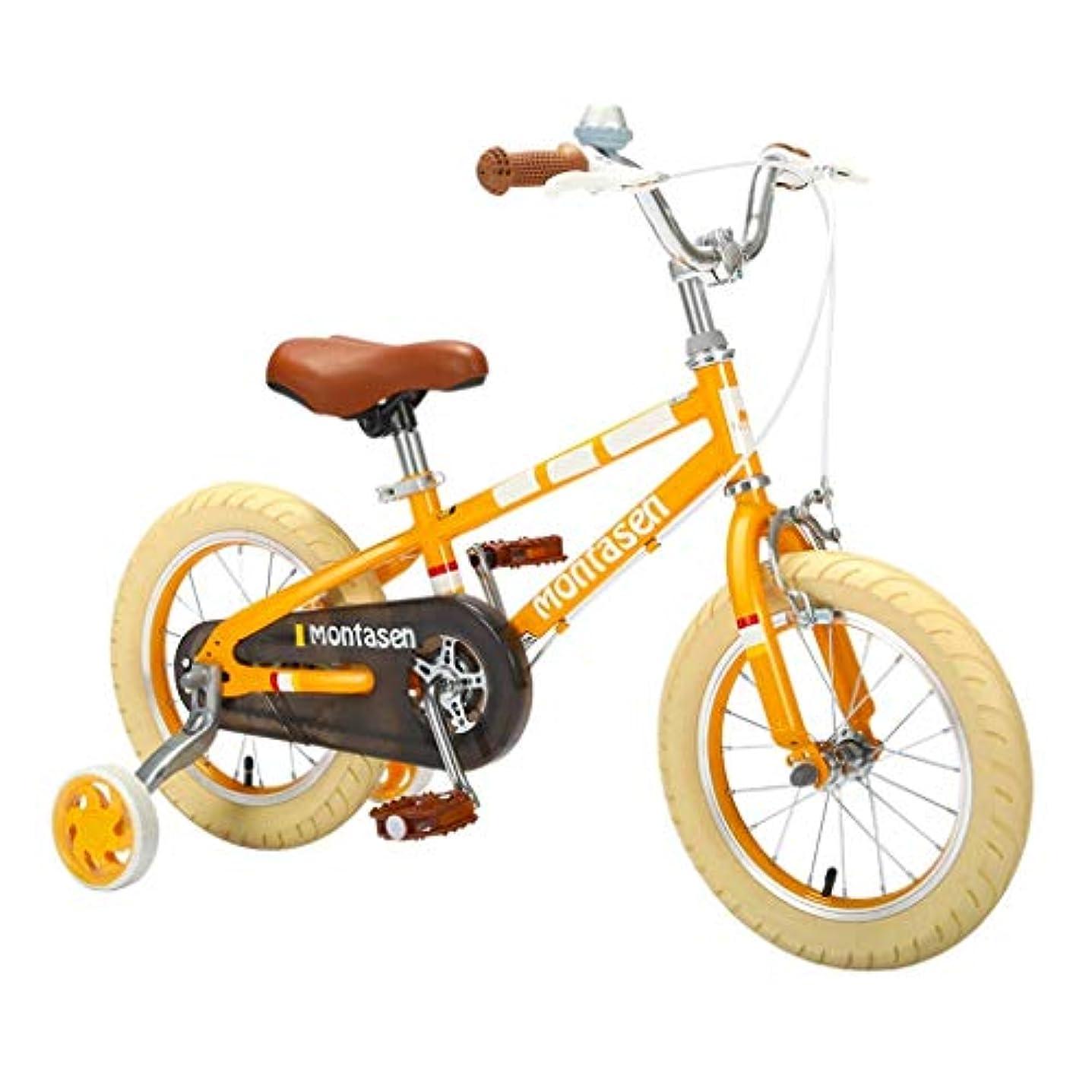 ジョージバーナードしばしばうぬぼれた自転車旅行の子供の自転車4-6歳の補助の補助輪が付いている女の子の男の子の子供の自転車