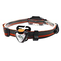LED 3000LMヘッドライト360度回転ヘッドライト3ライトモードトーチランプ狩猟フロント懐中電灯AAAバッテリー