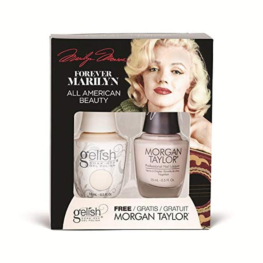 地中海軽蔑ストライドHarmony Gelish - Two of a Kind - Forever Marilyn Fall 2019 Collection - All American Beauty - 15ml / 0.5oz