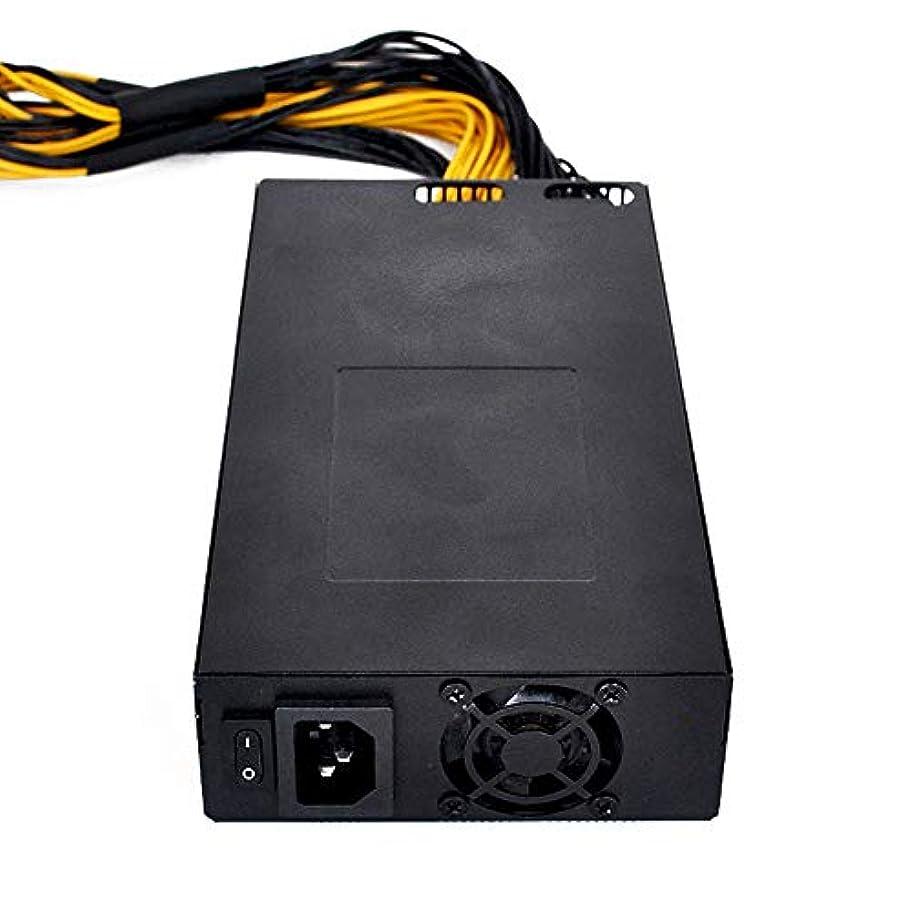 手書きつぶやき押し下げるKKmoon マイニング 電源 160-270V 1800W 40mm 電源ユニットS9 L3+ D3 R-4 A7 E9 マイナー電源1800W